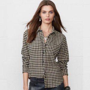 Denim & Supply Ralph Lauren Gingham Plaid Shirt